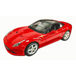 Bburago Бураго машинка Феррари 1:18 FERRARI CALIFORNIA T (CLOSED TOP) красная 18-16003