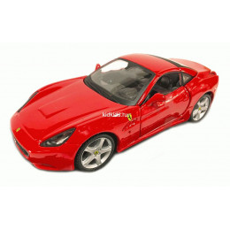 Bburago Бураго машинка Феррари 1:32 Ferrari CALIFORNIA красная 18-44015