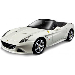 Bburago Бураго машинка Феррари 1:24 FERRARI CALIFORNIA T OPEN TOP белый 18-26011
