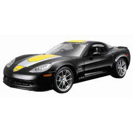 Maisto Маисто Машинка металлическая 1:24 CHEVROLET CORVETTE Z06 GT1 COMMEMORATIVE EDITION 2009 черный Hobby Special Edition 31203