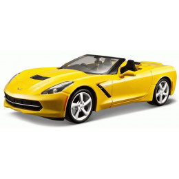 Maisto Маисто Машинка металлическая 1:24 CHEVROLET CORVETTE STINGRAY CONVERTIBLE 2014 желтый Hobby Special Edition 31501