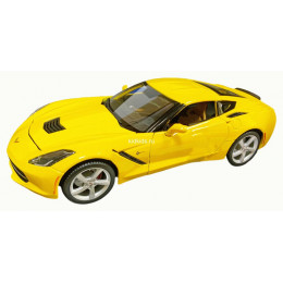 Maisto Маисто Машинка металлическая 1:18 CHEVROLET CORVETTE STINGRAY 2014 желтый Hobby Special Edition 31182