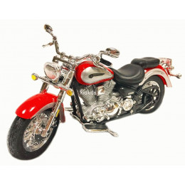 Maisto Маисто Масштабная модель мотоцикла 1:18 YAMAHA 2001 ROAD STAR красный 39300