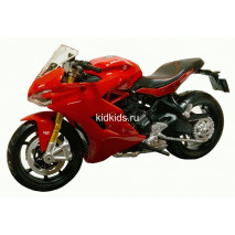 Maisto Маисто Масштабная модель мотоцикла 1:18 DUCATI Supersport S красный 39300